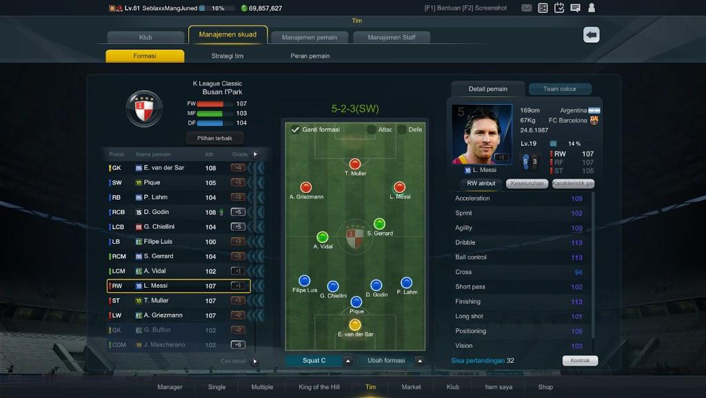 Formasi dan strategi fifa online 3