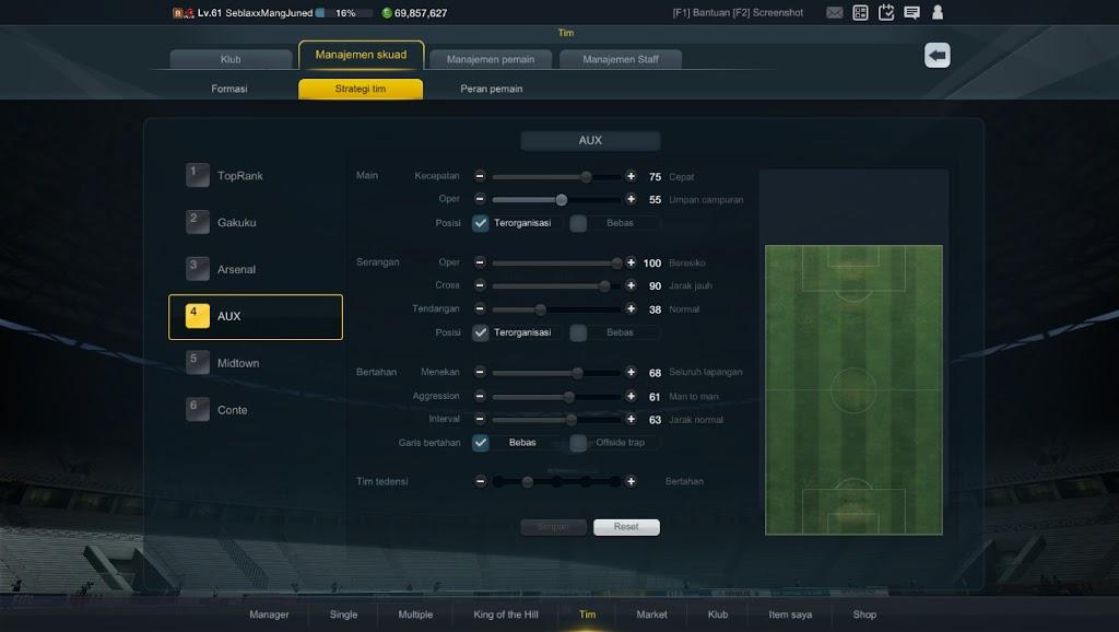 Tutorial taktik fifa online 3