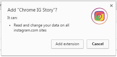 Add ig story