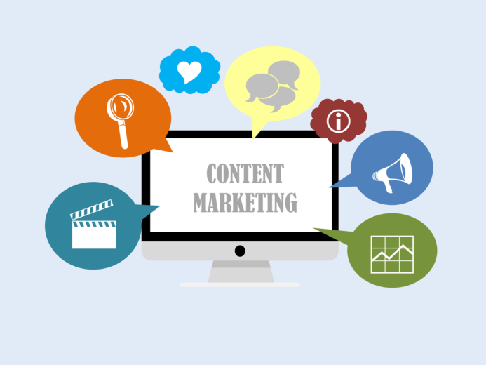 membuat content untuk strategi marketing